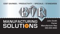 BTR Business Card Front