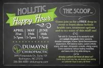 Dumayne Holistic Happy Hour Card